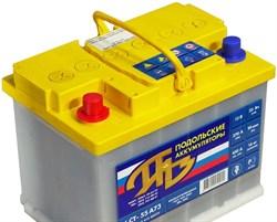 Aккумулятор ПОДОЛЬСК 55А/ч - фото 31567