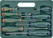 Набор отверток шлиц и крест SL 6,5х38 - 6,5х150, PH#1-3, 8 предметов