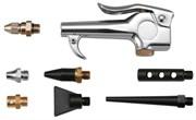 Пистолет продувочный с насадками 8 предметов