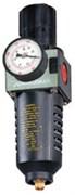 """Фильтры (влагоотделители) с регулятором давления для пневмоинструмента, 1/4"""""""