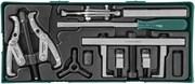 Набор съемников и приспособлений для обслуживания приводных шкивов (ложемент)