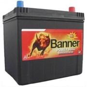 Aккумулятор BANNER Power Bull 45А/ч обратная полярность