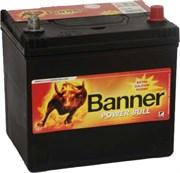 Aккумулятор BANNER Power Bull 60А/ч обратная полярность
