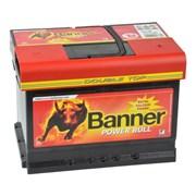 Aккумулятор BANNER Power Bull 62А/ч обратная полярность