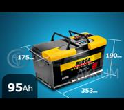 Aккумулятор BERGA Basicblock 95А/ч обратная полярность